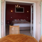 bed and breakfast in Ardèche with heated pool